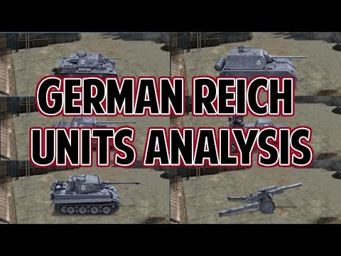[FAN REQUESTED] German Reich Units Analysis World Conqueror 4