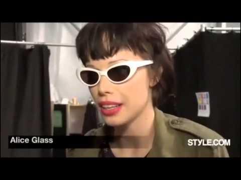 Alice Glass - Fashion show Spring 2012