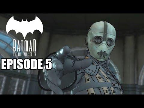 Telltale Batman Full Episode 5 - City Of Light - Gameplay Walkthrough PC 1080P 60fps