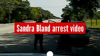"""You slammed ... my head on the ground!"" Sandra Bland arrest footage released (sensitive content)"