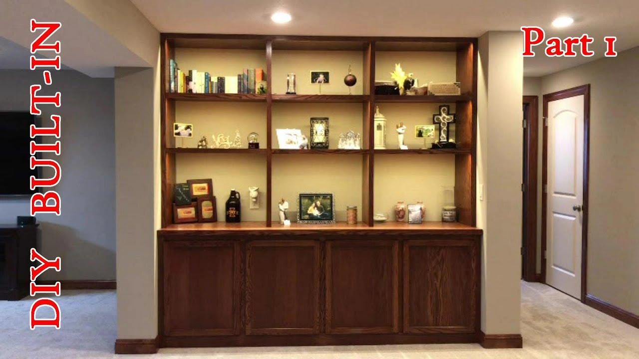 Diy Built In Base Cabinets Part 1