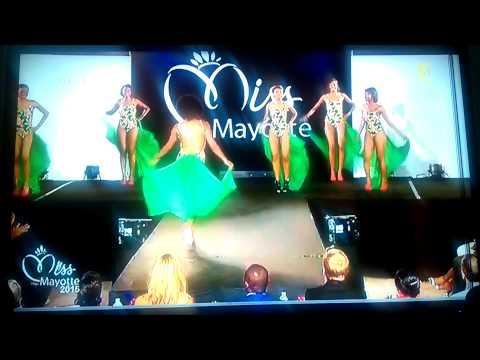 Miss Mayotte 2015 - Passage en maillot de bain