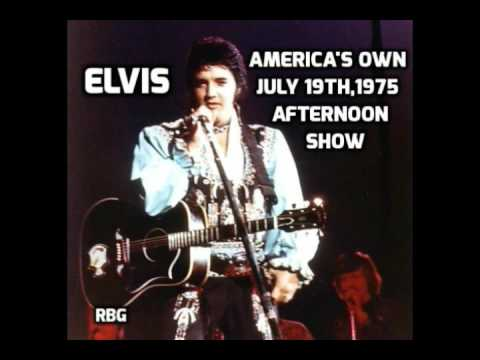 Elvis Presley-American's Own-07-19-1975-afternoon show-complete-corrected speed version