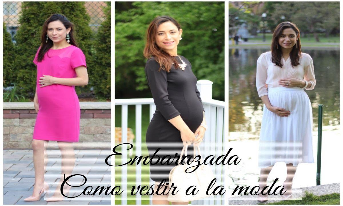 bb5dbe901 Moda para Embarazadas| Como vestir durante el embarazo| Prendas basicas -  YouTube