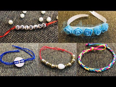 43aa402b1b7cb DIY Friendship Bracelets. 5 Easy DIY Bracelet Projects! - YouTube