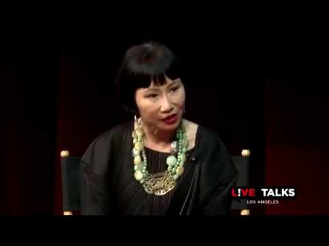 Amy Tan at Live Talks Los Angeles, May 6, 2014; in conversation with Aimee Liu