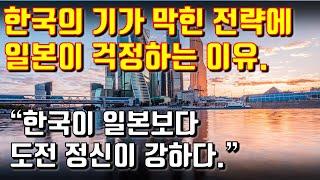 """한국의 기가 막힌 전략에 일본이 걱정하는 이유. """"한국이 일본보다 도전 정신이 강하다"""""""