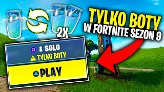 ONLY BOTS IN THE LOBBY FORTNITE?! MYTHBUSTERS SEASON 9!!