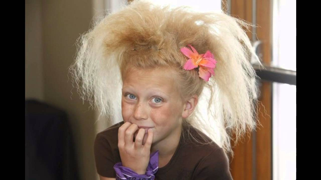 Ideas Del Dia Del Pelo Loco Para Los Ninos Ideas Crazy Hair Day