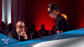 Con 14 años hace una MAGIA que pocos han visto en ESPAÑA | Audiciones 2 | Got Talent España 5 (2019)