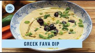 Greek Fava Dip: Split Pea Dip (Vegan)