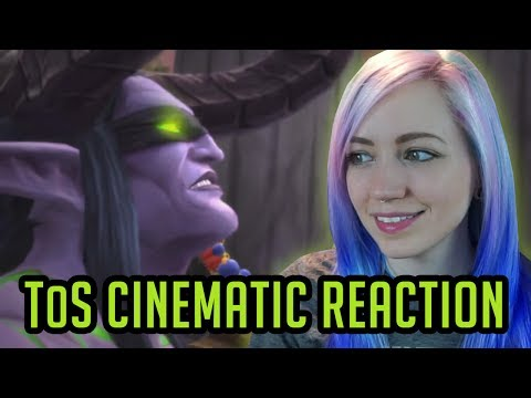 Reaction: Kil'Jaeden Cinematic | Tomb of Sargeras | World of Warcraft Legion