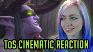 Reaction KilJaeden Cinematic  Tomb of Sargeras  World of Warcraft Legion