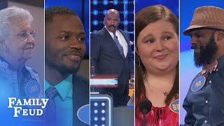 funniest family feud fast money