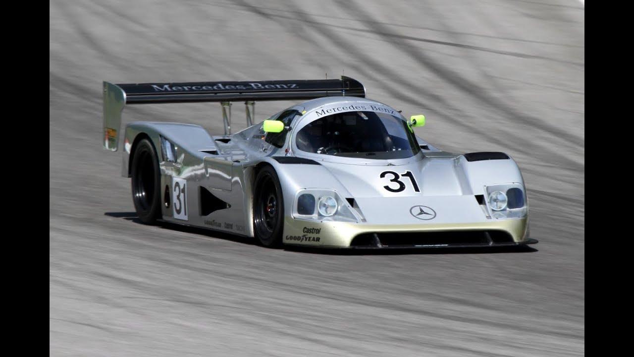 Epic Group C cars: Mercedes C11, Lancia LC2, Jaguar XJR-16 ...