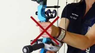 Properly Gripping YOUR bow by Diamond Archery