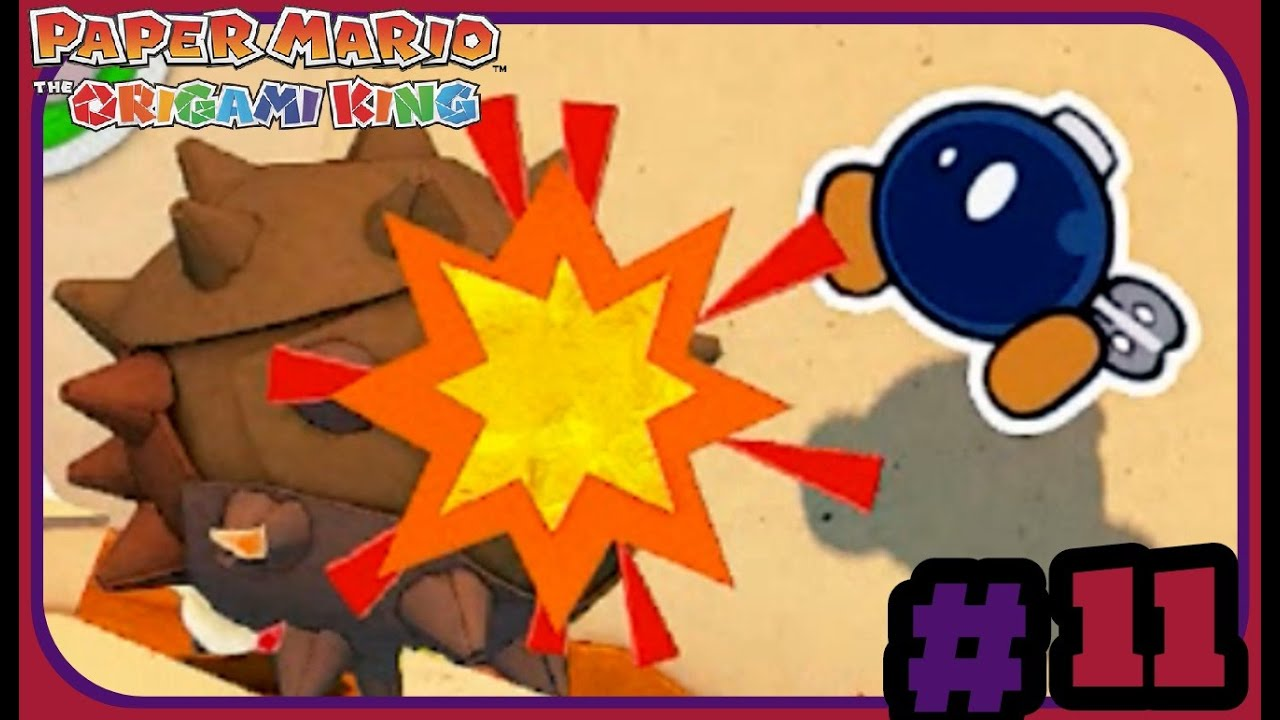 Paper Mario The Origami King (Part 11) Chestnut Chaos
