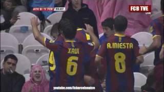 Video FC Barcelona vs Athletic Bilbao 3-1 All Goals & Highlights 25/09/2010 LALiga BBVA 2010/2011 Red Card download MP3, 3GP, MP4, WEBM, AVI, FLV November 2018