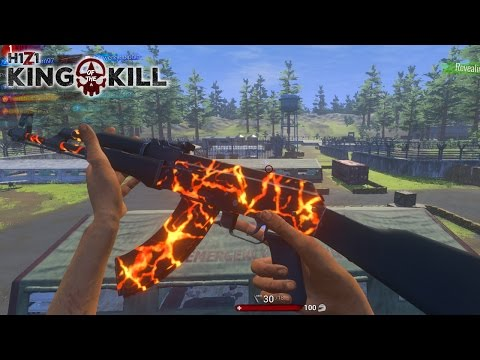 NEW AK-47 SKIN & ROYALTY GAMES! - H1Z1 King of the Kill Gameplay