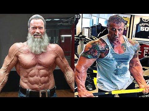 Arnold Schwarzenegger VS Sylvester Stallone Transformation  2018