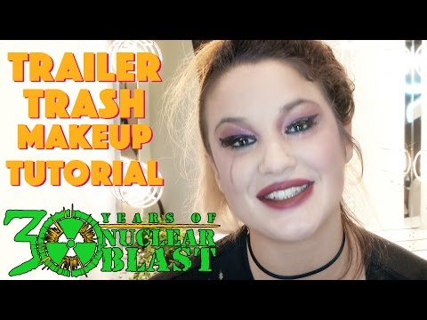 THE CHARM THE FURY - Trailer Trash Makeup Tutorial with Caroline Westendorp (APRIL FOOLS)