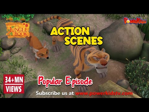Jungle book hindi cartoon for kids kahniya action compilation2