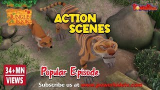 Jungle book hindi cartoon for kids kahniya action compilation2