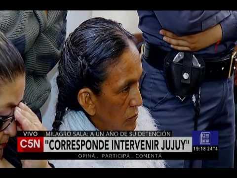 C5N - El Diario: Se cumple un año desde que Milagro Sala está presa