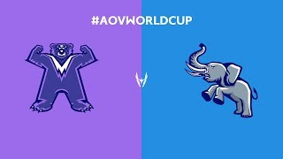 Highlights: Chinese Taipei vs Thailand WC | 2018 Arena of Valor World Cup