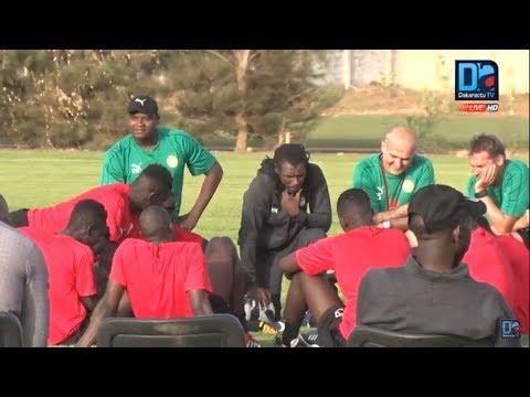 [LIVE] Suivez en direct de Saly la séance d'entraînement de l'équipe nationale du Sénégal du 23 Mai