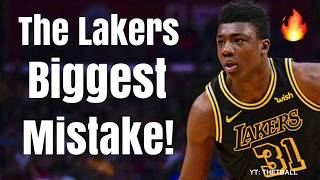 Meet the Los Angeles Lakers Biggest MISTAKE of the Year! | Waived a Future STAR For LeBron James?