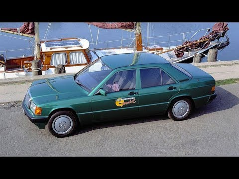 1992 Mercedes 190 w201 E-MOBIL Rügen - experimental electric