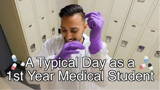 a typical day of a medical student i med school vlog i