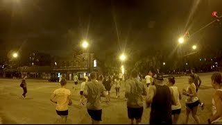 #blvds with 3run2, Logan Square, Chicago - complete 3.5 mile loop with GoPro HD1080 Mp3