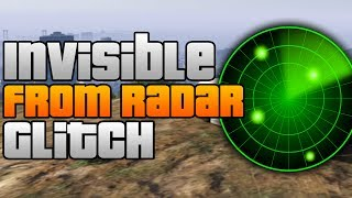 GTA 5 Online: Invisible From Radar Glitch! - Sneak Up on Other Players Trick [GTA V Online]