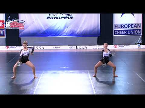 11 SENIOR DOUBLE FREESTYLE POM Kudrańska  Taraszka SHIVA DANCE STUDIO POLAND