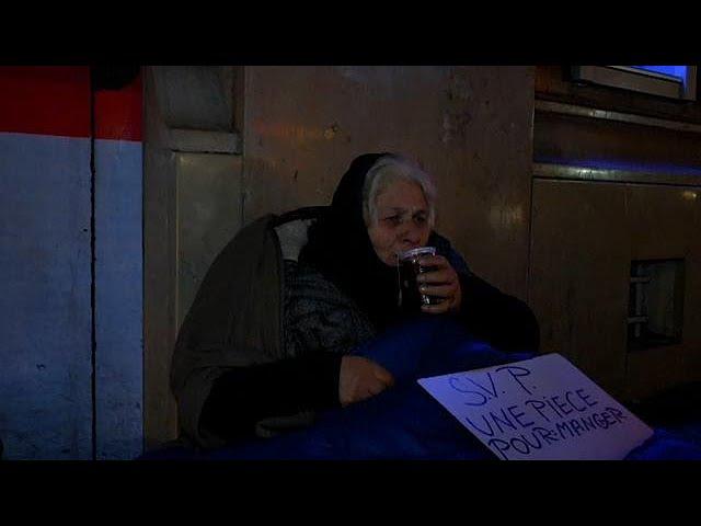 Власти Парижа посчитали бездомных