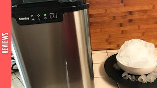 Unboxing & Review - Danby Portable Ice Maker - The290ss