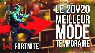 LE 20v20 : VOILA POURQUOI C'EST LE MEILLEUR MODE TEMPORAIRE...   Fortnite Battle Royale