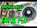 Trail Fix - Broken Rear Axle - What to do if you want to keep riding - Episode 001