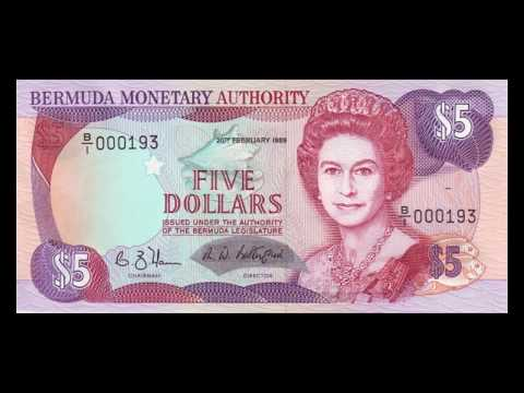 All Bermudian Dollar Banknotes - 1988 to 1988 Issues