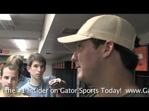 GCTV: John Brantley Post-Practice