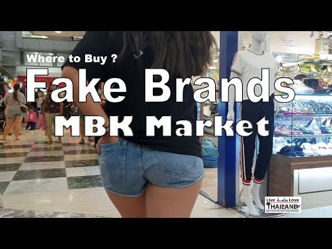 MBK -  Biggest  fake brands  market in Bangkok