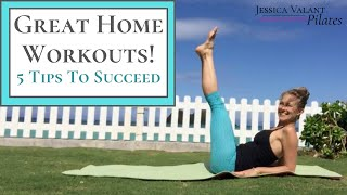 Great home workouts - 5 tips to workout at ⭐️ are a part of healthy lifestyle but it can be hard stay motivated and inspired! l...