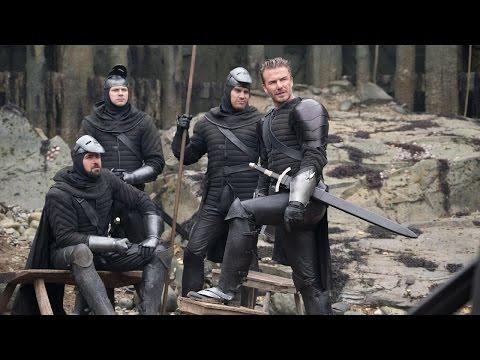 Rei Arthur: A Lenda da Espada - David Beckham nos Bastidores (leg) [HD]