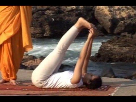 yoga for natural beauty  padchalan kriya kapotasana