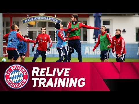 ReLive | 📽➡️⚽️ FC Bayern Training from Säbener Street