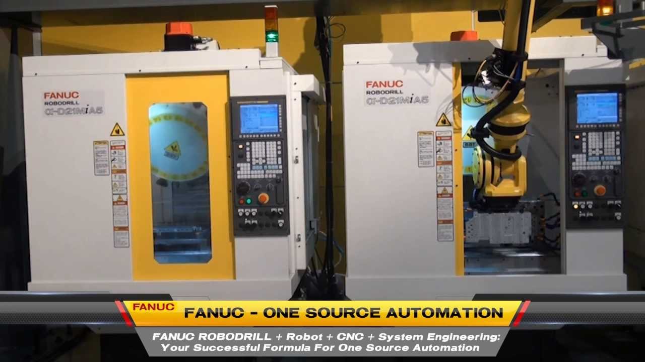 Fanuc ROBODRILL Certified Education Packages | Tech-Labs