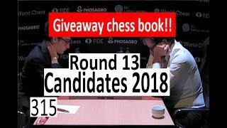 Candidates 2018: Round 13: Caruana, Karjakin, Mamedyarov or Ding!
