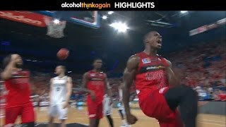 Perth Wildcats vs Melbourne United Highlights - 9 December 2016